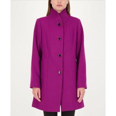 ケイト スペード kate spade new york レディース コート スタンドカラー アウター Stand-Collar Coat Bright Plum