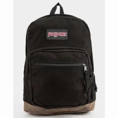 ジャンスポーツ バックパック・リュック Right Pack Expressions Leopard Boot Backpack Black