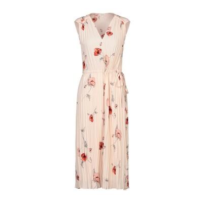 VINCE. 7分丈ワンピース・ドレス ライトピンク M ポリエステル 100% 7分丈ワンピース・ドレス