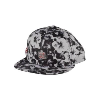ALOHA ARMY HIBISCUS スナップバックキャップ (ブラック×グレー) アロハアーミー in4m CAP 帽子 USDM JDM HDM stance ストリート スニーカーコーデ ハワイ