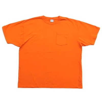 カーハート 無地ポケットTシャツ オレンジ サイズ表記:XL