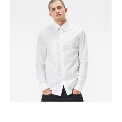 Core shirt l/s / Atton stretch poplin