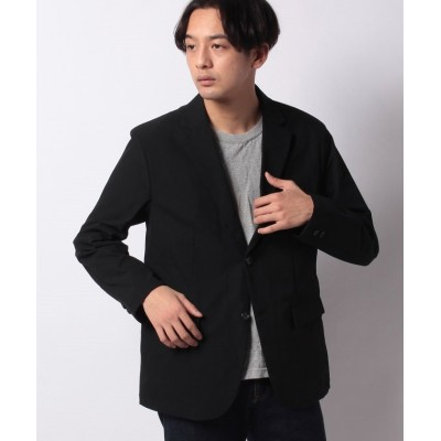 【ベーセーストック】 タスランオックステーラードジャケット メンズ ブラック M B.C STOCK