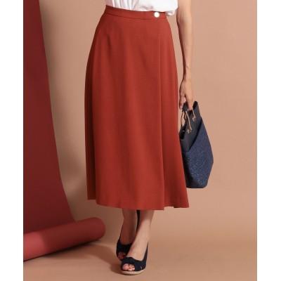 【オンワード】 any SiS>スカート 【洗える】ライトサマーフレア スカート ホワイト 1 レディース 【送料無料】