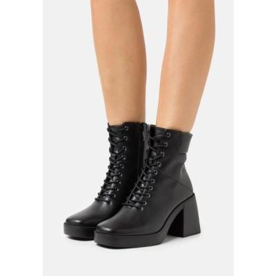 レディース ブーツ ALMAH - Lace-up ankle boots - black