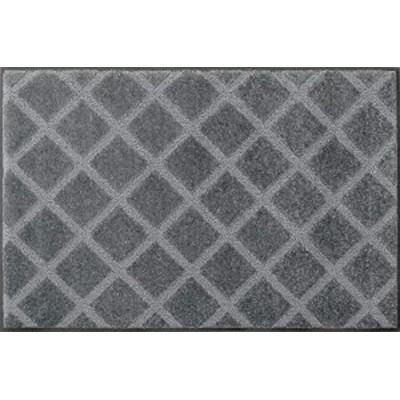 クリーンテックス・ジャパン(Kleen-Tex) 泥落とし玄関マット スクレイプマットG 45×75cm シルバー AJ00002
