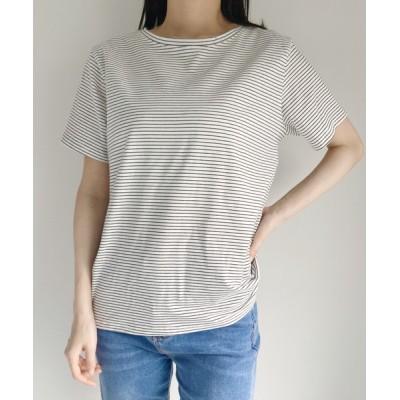 tシャツ Tシャツ ベーシック細ボーダーTee