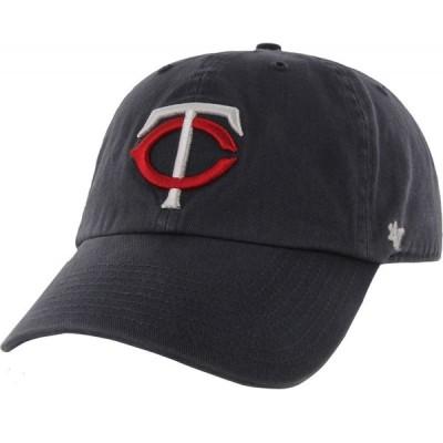 フォーティセブン 47 メンズ キャップ 帽子 ' Minnesota Twins Navy Clean Up Adjustable Hat