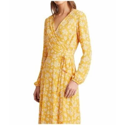 ラルフローレン レディース ワンピース トップス Franny Westbury Floral Dress True Marigold/Colonial Cream