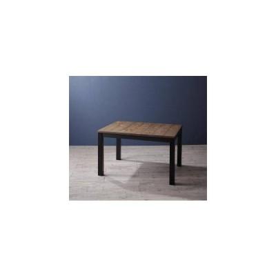 ダイニングテーブル ロータイプ こたつ ハイタイプ 高さ調節 長方形 椅子用 机 単品 75×105 2人用 4人用 コンパクト パイン 木製 西海岸 ヴィンテージ レトロ
