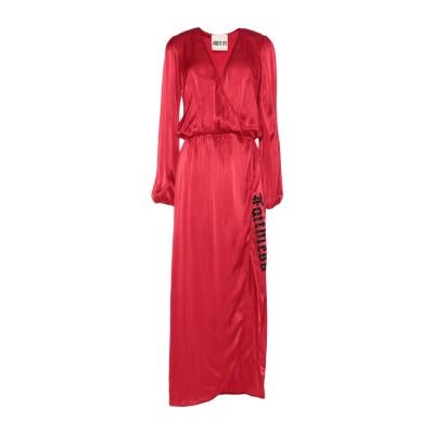 アニヤバイ ANIYE BY ロングワンピース&ドレス レッド L レーヨン 100% / ナイロン ロングワンピース&ドレス