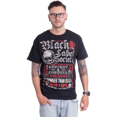 インペリコン Impericon メンズ Tシャツ トップス - Destroy & Conquer - T-Shirt black