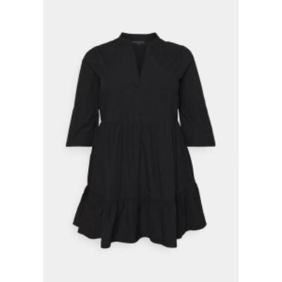 オンリー カルマコマ レディース ワンピース トップス CARCORINNE TUNIC DRESS - Day dress - black black