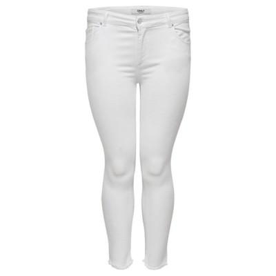 オンリー カルマコマ カジュアルパンツ レディース ボトムス CARWILLY  LIFE - Jeans Skinny Fit - white