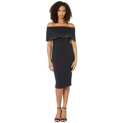 レディース スカート ドレス Off-the-Shoulder Cuff Cocktail Dress