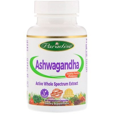 Organics、アシュワガンダ、ベジカプセル60 錠