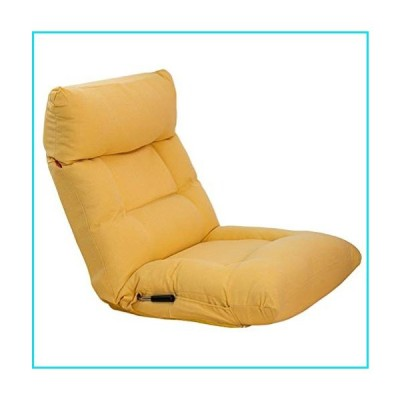 YQQ-Lazy Sofa Chairs Floor Chair Sofa Chair Recliner Folding Floor Chair with Back Support Adjustable Seat Reading On The Ground (Color : D)【並行
