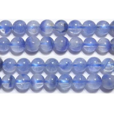 ブルーファントムクォーツ 丸玉 6mm A   ※ 天然石ビーズ 天然石 パワーストーン 1粒売り バラ売り 1玉販売