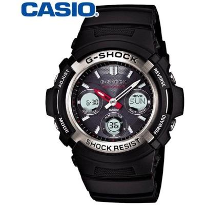 カシオ アナデジ腕時計 G-SHOCK AWG-M100-1AJF メンズ(正規品)