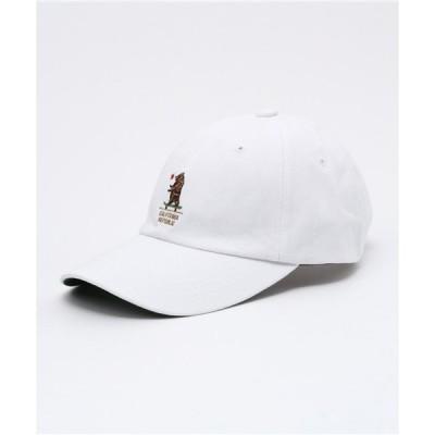 帽子 キャップ 【CALIFORNIA HAVE A NICE TIME!】ロゴ ローキャップ
