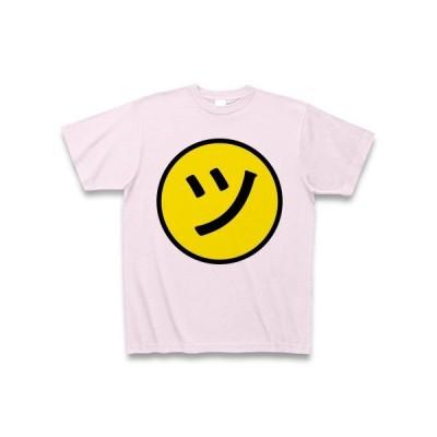 ニコ「ツ」ちゃんマーク Tシャツ(ピーチ)