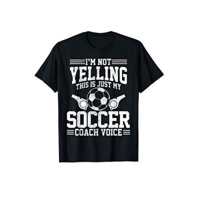 Soccer Coach Voice - Funny Sports Team Training Trainer Gift T-Shirt