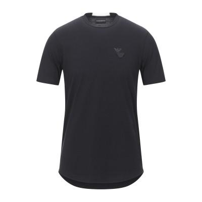 エンポリオ アルマーニ EMPORIO ARMANI T シャツ ブラック XXL コットン 100% T シャツ