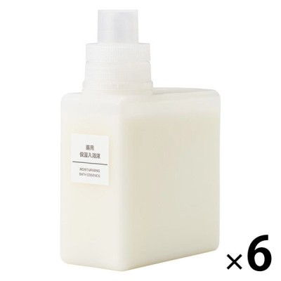 無印良品 薬用保湿入浴液 480mL 6個 良品計画