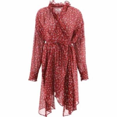 イザベル マラン Isabel Marant Eoile レディース ワンピース ラップドレス ワンピース・ドレス Pamela Wrap Dress Bordeaux