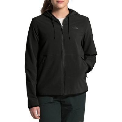 ノースフェイス レディース ジャケット&ブルゾン アウター Mountain Zip Front Sweatshirt Hoodie 3.0 TNF Black