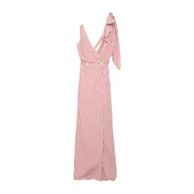 WALK OF SHAME ロングワンピース&ドレス レッド 40 コットン 100% ロングワンピース&ドレス