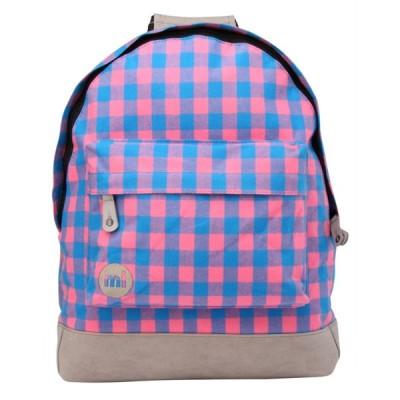 バッグ   リュック Mi-Pac Premium リュックサック メンズ ユニセックス Rucksack バッグ ラゲッジ PackGingham Pink/Blue