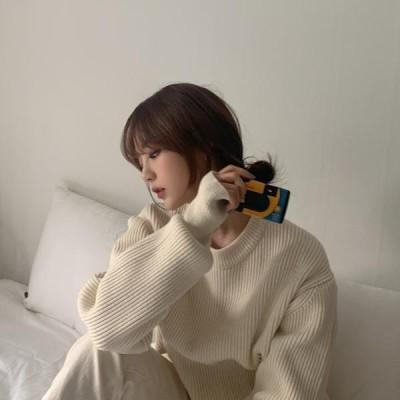 HEYLADY レディース ニット/セーター Casual warm knit
