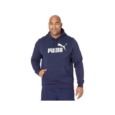 プーマ Big & Tall Essential Hoodie Fleece Big Logo メンズ スウェット パーカー Peacoat