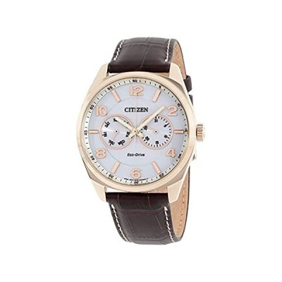 〈新品送料無料〉Citizen メンズ エコドライブ ドレスブラウン 腕時計
