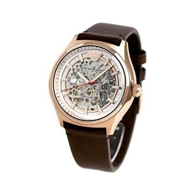 EMPORIO ARMANI エンポリオアルマーニ 腕時計 ジータメカニコ 43mm 自動巻き スケルトン 並行輸入品 AR60005