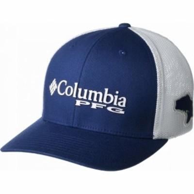 コロンビア Columbia メンズ キャップ 帽子 PFG Mesh(TM) Ballcap Carbon/White/Red Spark/Bass