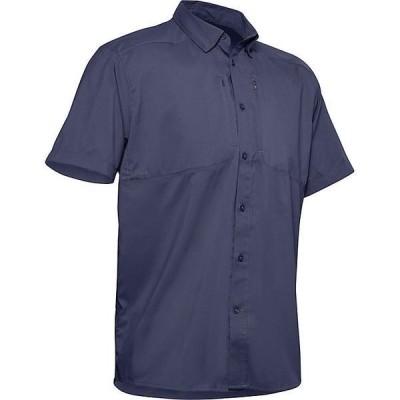 (取寄)アンダーアーマー メンズ タイド チェイサー 2.0 ショートスリーブ シャツ Under Armour Men's Tide Chaser 2.0 SS Shirt Blue Ink / Blue Ink 送料無料