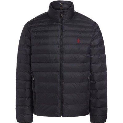 ラルフ ローレン POLO RALPH LAUREN メンズ ジャケット アウター Packable Quilted Jacket Synthetic Padding Black