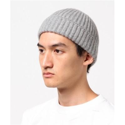 BURNER / 【ReproFarm】カシミヤワイドリブ ニット帽 MEN 帽子 > ニットキャップ/ビーニー
