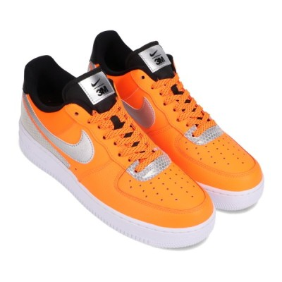 ナイキ NIKE スニーカー エア フォース 1 '07 LV8 3M (TOTAL ORANGE/METALLIC SILVER-BLACK) 20HO-I