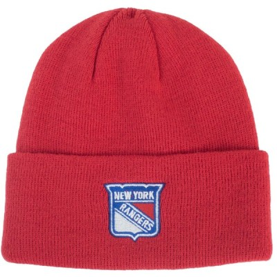 NHL レンジャース ニットキャップ/ニット帽 Team Logo Cuffed Knit Hat リーボック/Reebok レッド