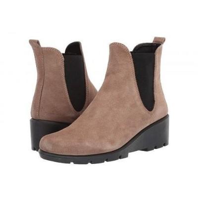 The FLEXX レディース 女性用 シューズ 靴 ブーツ チェルシーブーツ アンクル Slimmer - Peanut Suede
