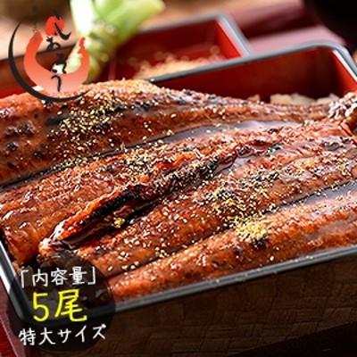 うなぎ 蒲焼き 国産 特大サイズ 200g×5尾 ウナギ 鰻[送料無料]