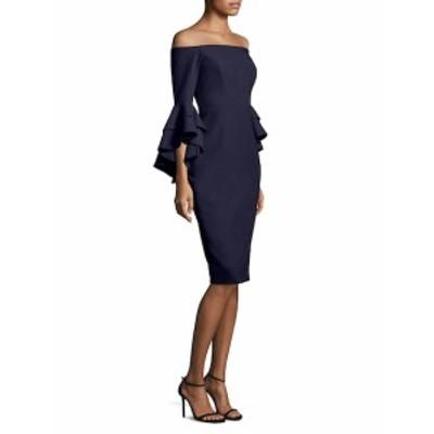 ミリー レディース ワンピース Selena Italian Cady Off-The-Shoulder Bell-Sleeve Dress