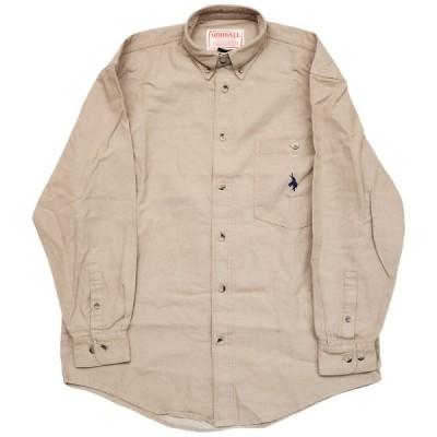 ODDBALL ORIGINAL BD DENIM L/S SHIRT khaki オッドボール オリジナル ボタンダウンシャツ