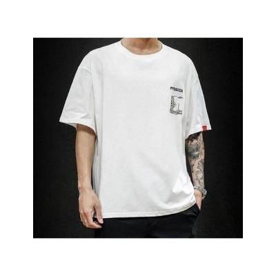 2020夏 新作 メンズ 大きいサイズ 花柄 半袖 Tシャツ 3色   YWQB230