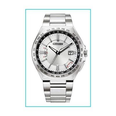 [シチズン] 腕時計 アテッサ エコ・ドライブ電波時計 ダイレクトフライト ACT Line CB0210-54A メンズ シルバ
