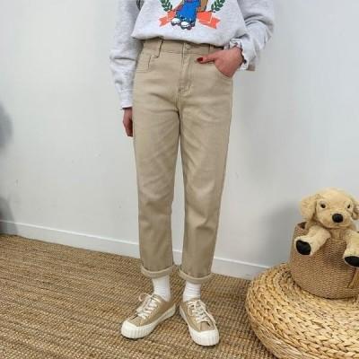 BULLANG GIRL レディース パンツ Way Cotton Straight Pants