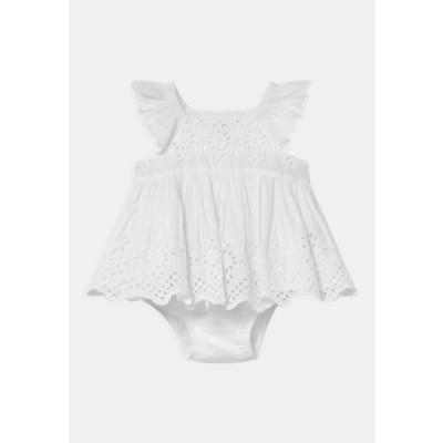 ギャップ キッズ ファッション EYELET SET - Cocktail dress / Party dress - optic white